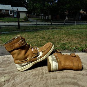 Sperry Top Siders Ankle Boots Sz 6.5